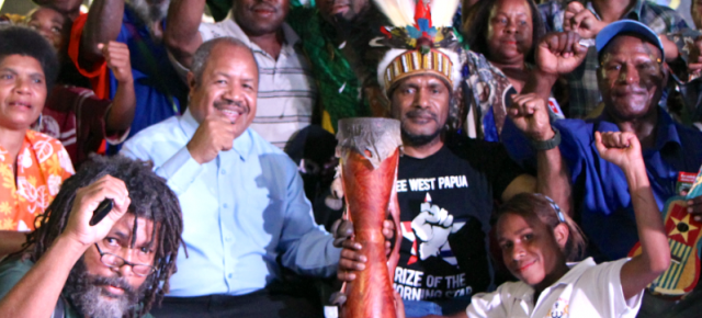 Free West Papua concert in Port Moresby, PNG