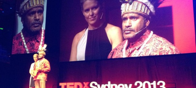 Benny Wenda speaks at TEDx Sydney