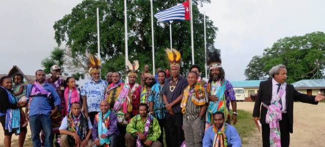West Papuans unite under a new umbrella group