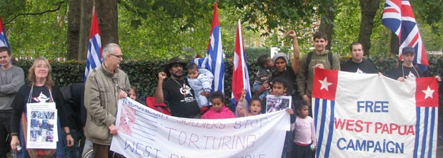 Invitation to a Free West Papua demonstration on 17th of January