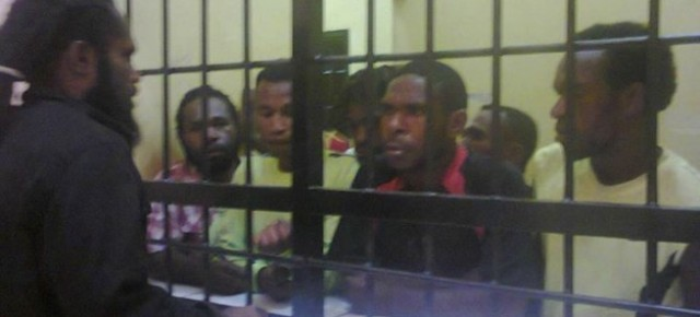 URGENT MESSAGE AFTER UP TO 84 WEST PAPUANS ARRESTED
