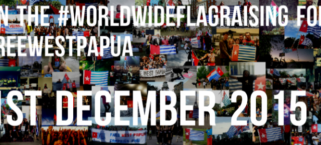 Calling on all supporters around the world to join the Global Flag Raising for West Papua